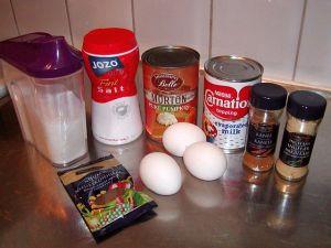Pumpapaj: ingredienser