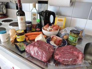 Köttgryta: ingredienser