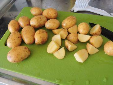 Små fasta potatis