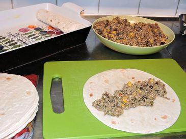Enchiladas med köttfärs 10