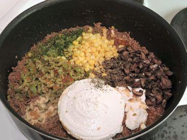 Enchiladas med köttfärs 6