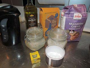 Fejkad Levain 1 ingredienser