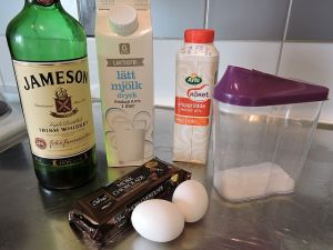 Fredens chokladcreme: ingredienser