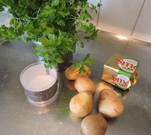 Persiljepotatis 1 ingredienser