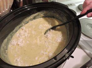 Potatis och purjolökssoppa med twist