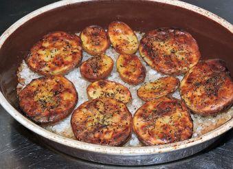 Saltbakade potatishalvor