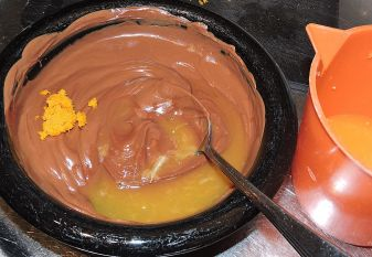 Chokladtryffel med apelsin