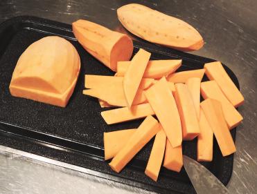 Kryddiga sötpotatis-pommes 2