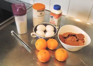 Julig semifreddo 1 ingredienser