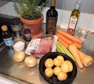 Pot Roast 1 - ingredienser