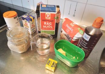 rågbröd 1 - ingredienser