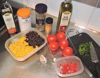 Salsa Fresca 1 - ingredienser
