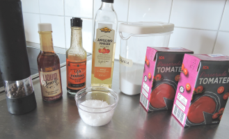 Skinny BBQ sauce 1 - ingredients
