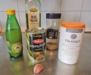 Kronärtskockskräm 1 - ingredienser