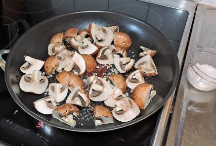 Stek champinjoner 1
