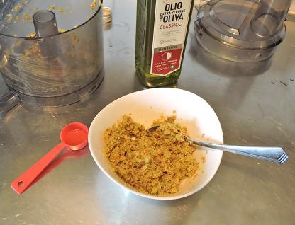 Tapenade verde med chili 6