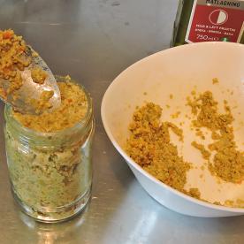 Tapenade verde med chili 9