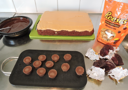 Chokladtopping med Reeses 5