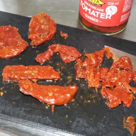 Hacka solotrkade tomater
