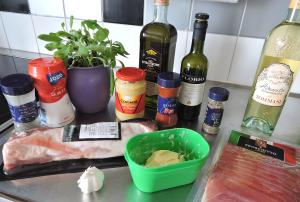 Prosciuttolindad fläskfilé - ingredienser