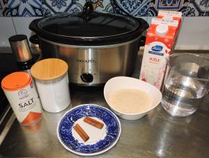 Julgröt i slow cooker - ingredienser